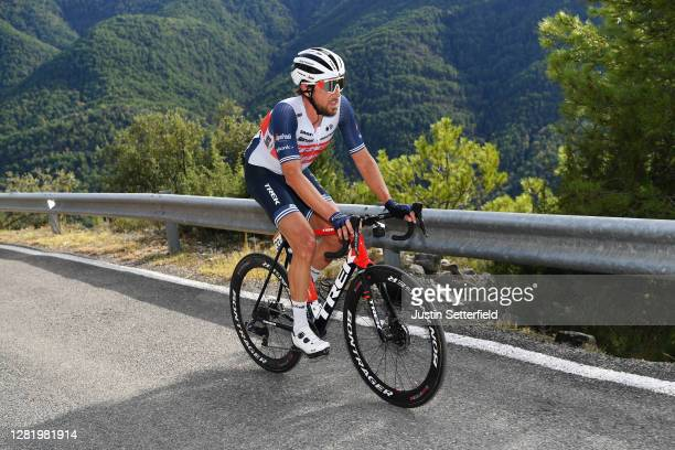 Koen De Kort of The Netherlands and Team Trek - Segafredo / during the 75th Tour of Spain 2020, Stage 5 a 184,4km Huesca to Sabiñánigo 835m /...