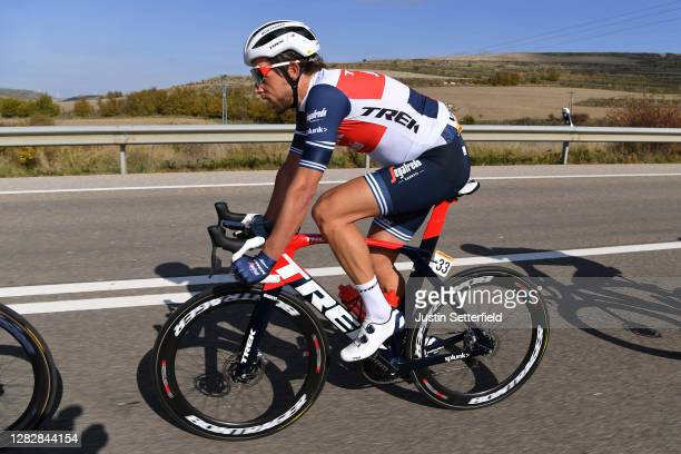 Koen De Kort of The Netherlands and Team Trek - Segafredo / during the 75th Tour of Spain 2020, Stage 9 a 157,7km stage from Cid Campeador Military...