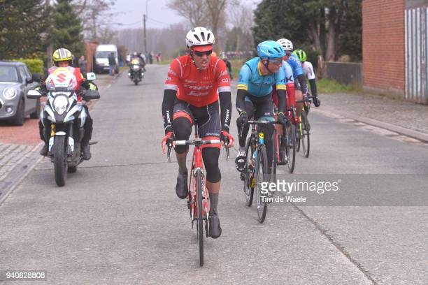 Koen De Kort of The Netherlands and Team Trek Segafredo / during the 102nd Tour of Flanders 2018 Ronde Van Vlaanderen a 2647km race from Antwerpen to...