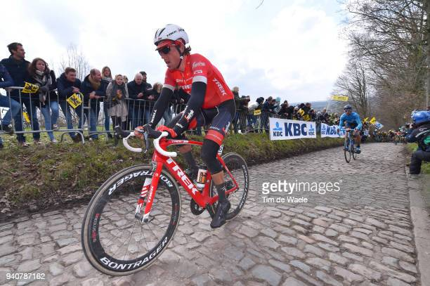 Koen De Kort of The Netherlands and Team Trek Segafredo / Koppenberg / during the 102nd Tour of Flanders 2018 Ronde Van Vlaanderen a 2647km race from...