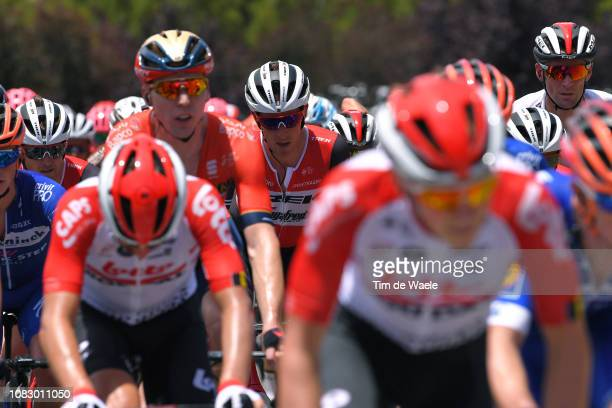 Koen de Kort of The Netherlands and Team TrekSegafredo / during the 21st Santos Tour Down Under 2019 Stage 1 a 129km stage from Adelaide to Adelaide...