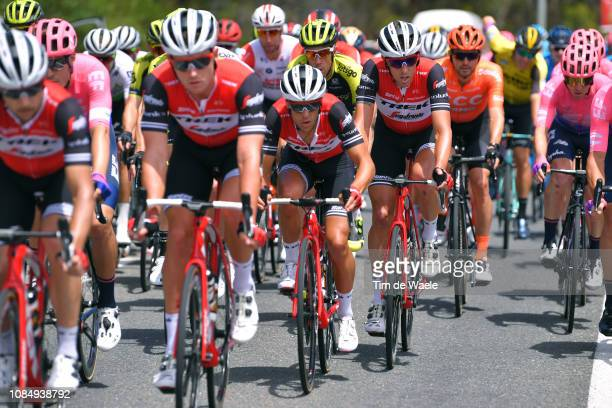 Koen de Kort of The Netherlands and Team TrekSegafredo / during the 21st Santos Tour Down Under 2019 Stage 5 a 1495km stage from Glenelg to...