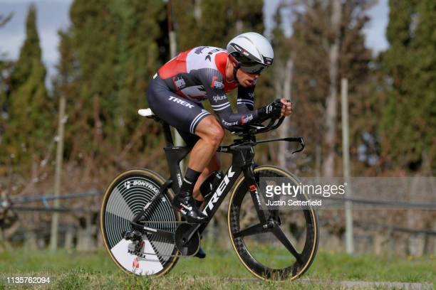 Koen De Kort of The Netherlands and Team TrekSegafredo / during the 77th Paris Nice 2019 Stage 5 a 255km Individual Time Trial stage from Barbentane...