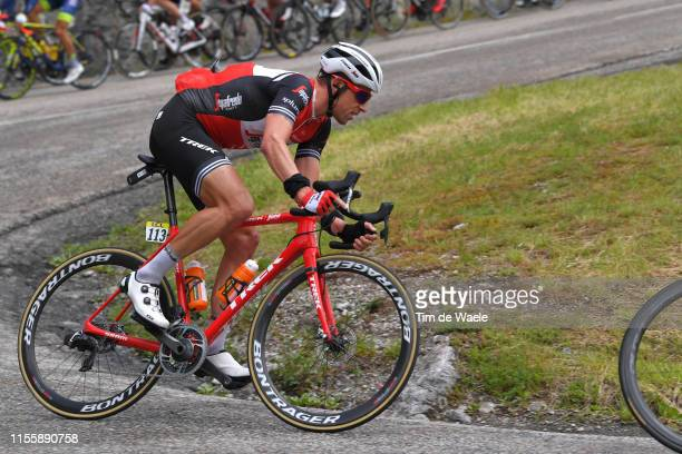 Koen de Kort of The Netherlands and Team TrekSegafredo / during the 71st Criterium du Dauphine 2019 Stage 6 a 229km stage from SaintVulbas Plaine de...
