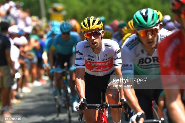 Koen de Kort of The Netherlands and Team TrekSegafredo / during the 106th Tour de France 2019 Stage 8 a 200km stage from Mâcon to SaintÉtienne 486m /...