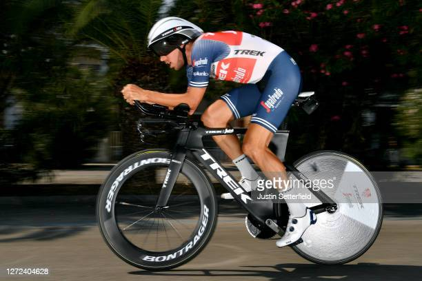Koen De Kort of The Netherlands and Team Trek-Segafredo / during the 55th Tirreno-Adriatico 2020 - Stage 8 a 10,1km Individual Time Trial in San...