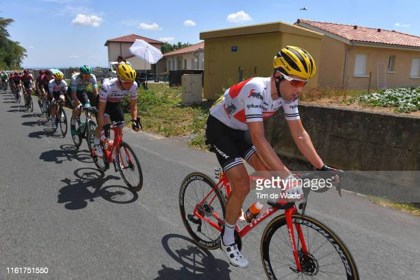 Koen de Kort of The Netherlands and Team TrekSegafredo / Peloton / during the 106th Tour de France 2019 Stage 8 a 200km stage from Mâcon to...