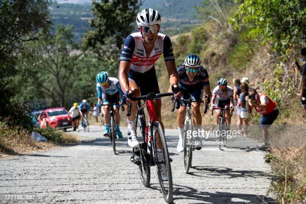 Koen De Kort of The Netherlands and Team Trek-Segafredo / Poggio Murella / during the 55th Tirreno-Adriatico 2020, Stage 3 a 217km stage from...