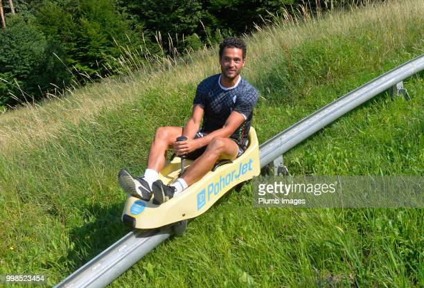 Koen Persoons during team bonding activities during the OHL Leuven training session on July 09 2018 in Maribor Slovenia