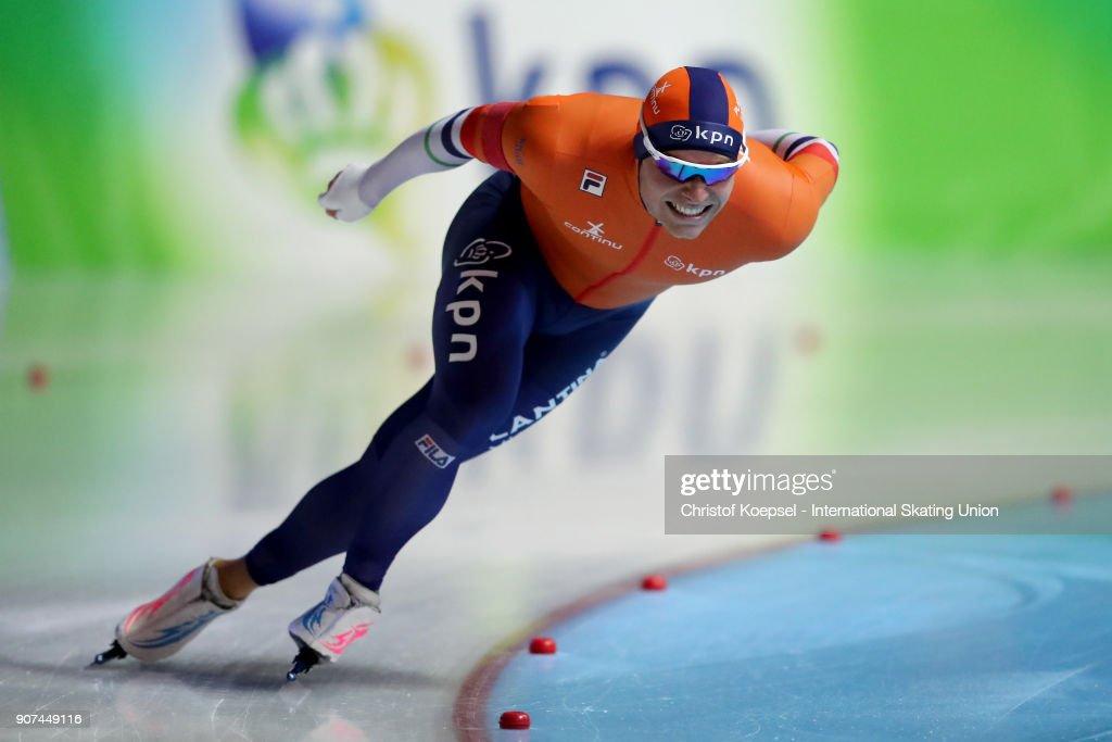 ISU World Cup Speed Skating - Erfurt