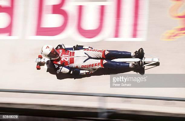 Koenigssee BOBRUN SPEEDSKATING Weltmeisterschaft der besonderen Art Im August 1998 fand das schnellste Inline Skating Downhill Rennen der Welt statt...
