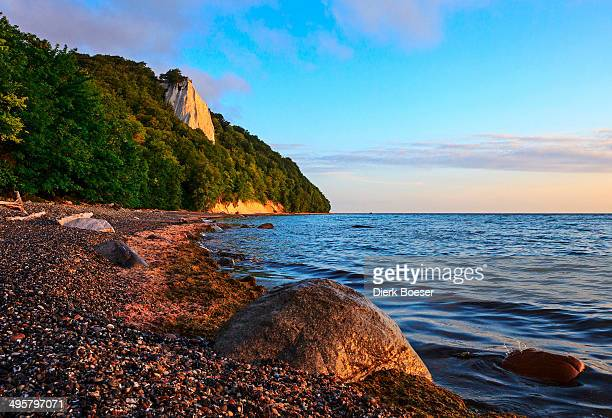 Koenigsstuhl chalk cliff, Sassnitz, Rugen, Mecklenburg-Western Pomerania, Germany