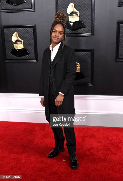 Koffee attends the 62nd Annual GRAMMY Awards at Staples Center on January 26 2020 in Los Angeles California