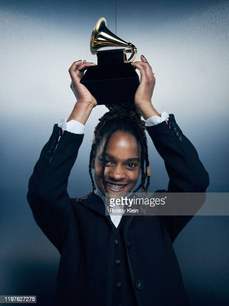 Koffee of 'Rapture' poses for a portrait during the 62nd Annual GRAMMY Awards on January 26 2020 in Los Angeles California