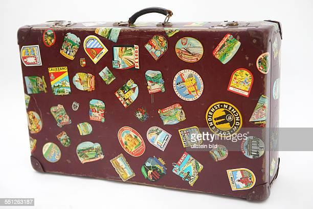 GER Koffer mit alten Kofferaufklebern