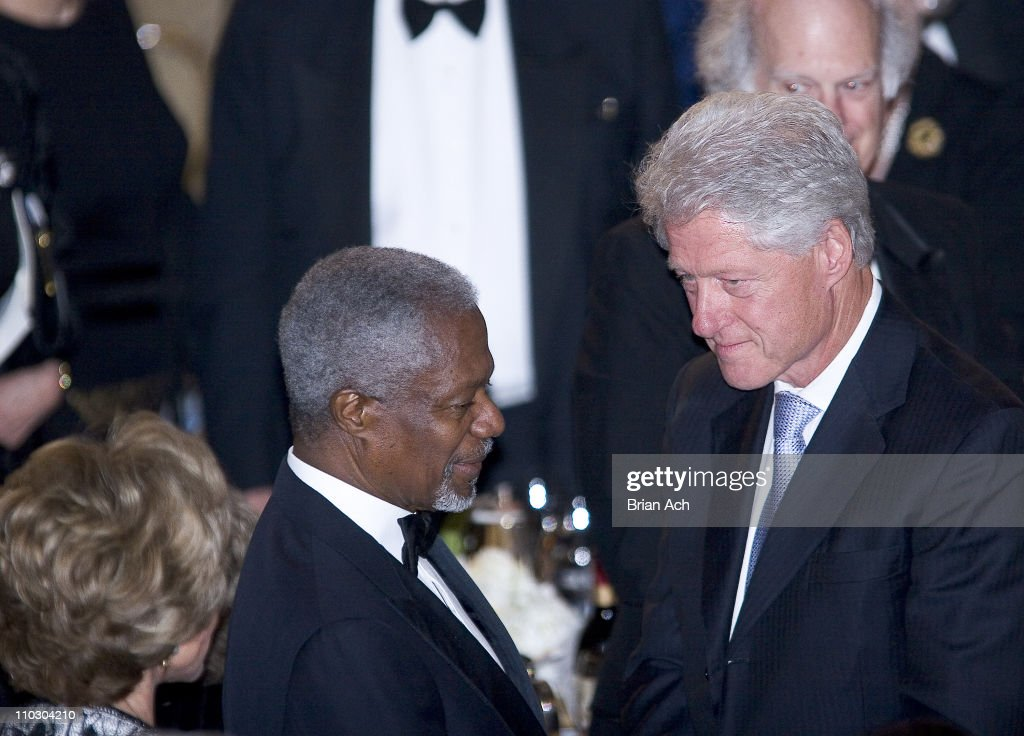 UNA Global Leadership Awards Gala with Bill Clinton and Kofi Annan - October 10, 2006