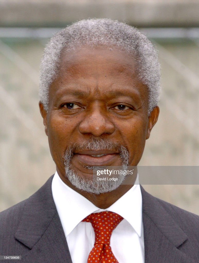 Kofi Annan at the Nick 2015 Launch