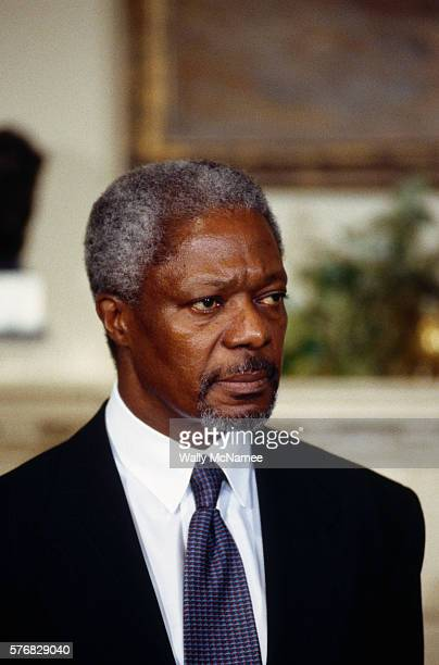 Kofi Annan has spent almost his entire career in various positions within the United Nations except for two years spent as the director of tourism...