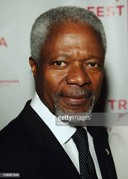 Kofi Annan SecretaryGeneral of the United Nations