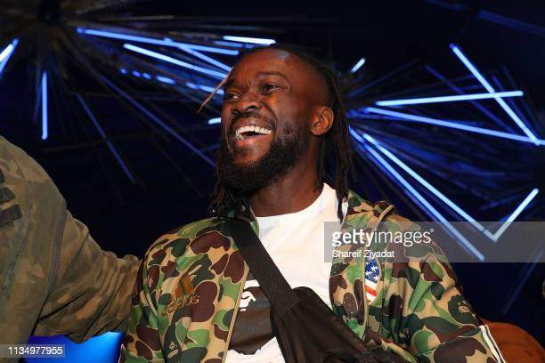 Kofi Kingston attends Wale's 5th Annual Wale Maniacaption at Sony Hall on April 4 2019 in New York City