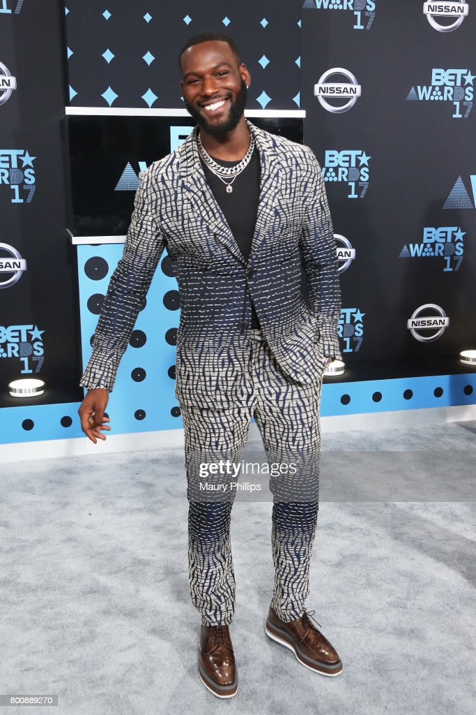 Kofi Siriboe at the 2017 BET Awards at Microsoft Square on June 25, 2017 in Los Angeles, California.