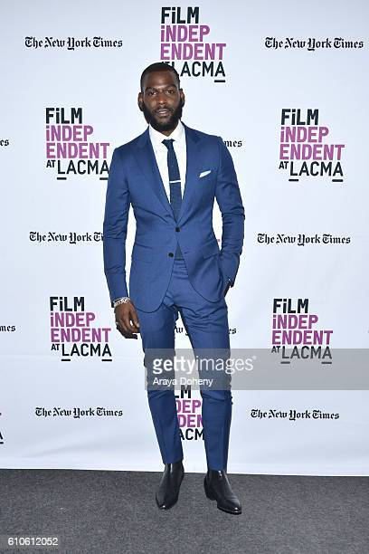 Kofi Siriboe attends Film Independent at LACMA An Evening With Ava DuVernay and Oprah Winfrey at Bing Theatre At LACMA on September 26 2016 in Los...
