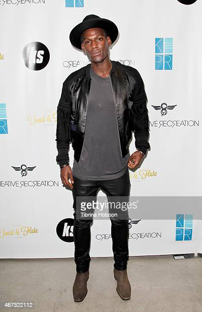 Kofi Siriboe attends Kofii Siriboe of MTV's 'Awkward' XXI bithday at Creative Recreation Showroom on March 22 2015 in Los Angeles California