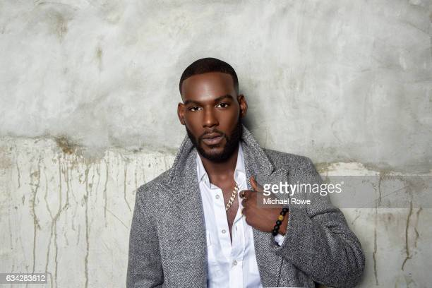 Kofi Siriboe from the cast of Queen Sugar is photographed for Essence Magazine on July 1 2016 in New Orleans Louisiana