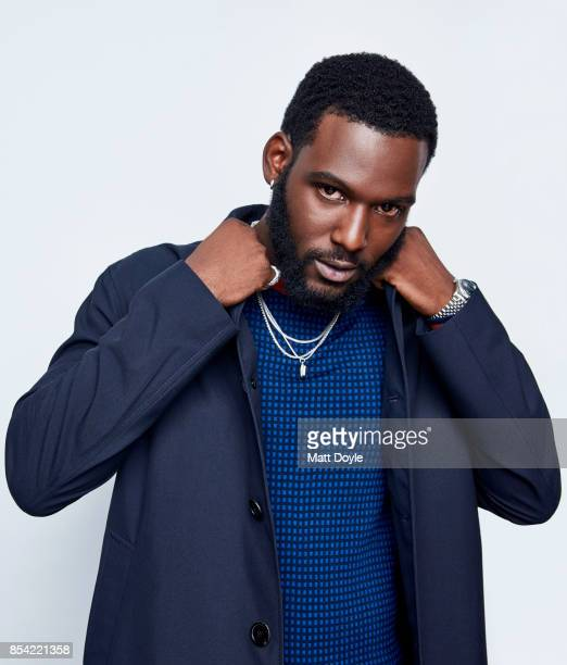 Kofi Siriboe poses for a portraits at the Tribeca TV festival at Cinepolis Chelsea on September 24 2017