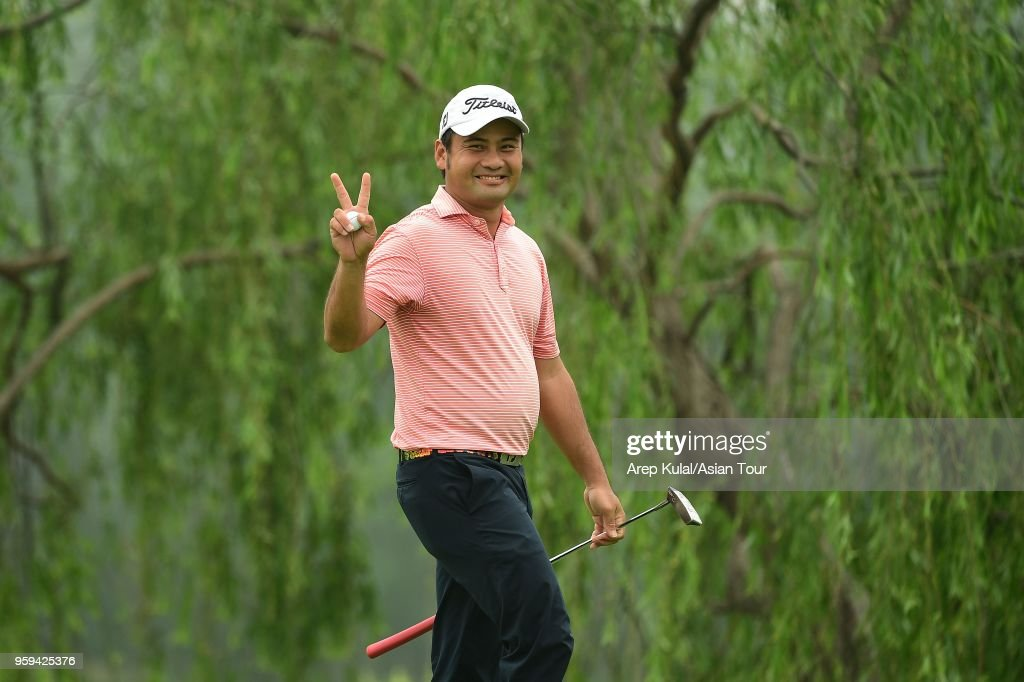 Koh Deng Shan of Singapore pictured during round one of the 2018 Asia Pacific Classic at St. Andrews (Zhengzhou) Golf Club on May 17, 2018 in Zhengzhou, Henan, China.