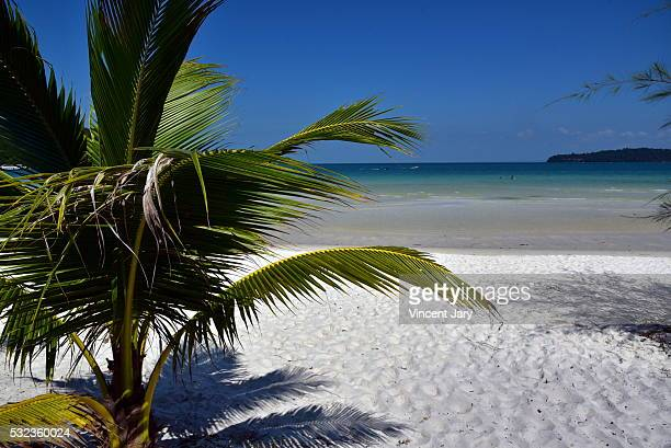 Koh Rong Samloem island seascape Cambodia