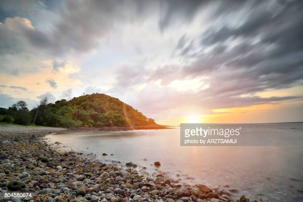 koh samui - fast shutter speed stock photos and pictures