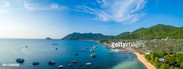 koh tao island, thailand - ko samui stock photos and pictures