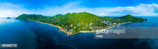 koh tao island, thailand - ko samui stock photos and pictures