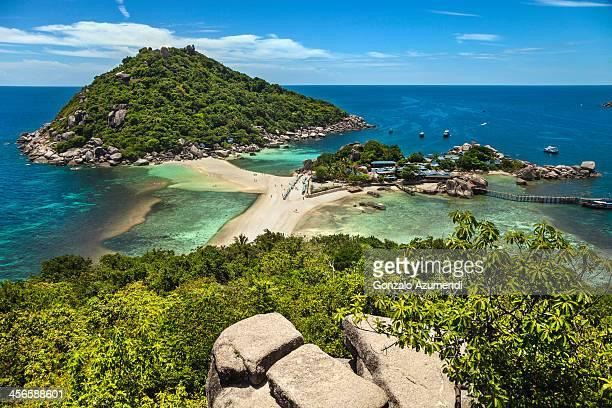 Koh Tao islands in Thailandia.