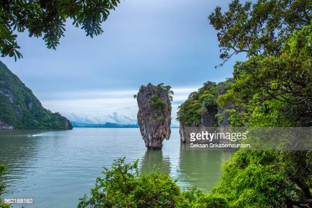 Koh Tapu island or popular call James bond island