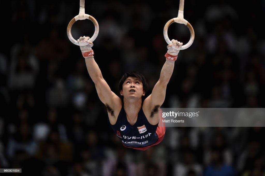 Artistic Gymnastics NHK Trophy - Day 2 : ニュース写真