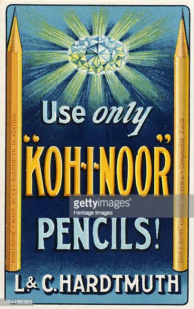 'KohINoor' Pencils L C Hardtmuth London 1909