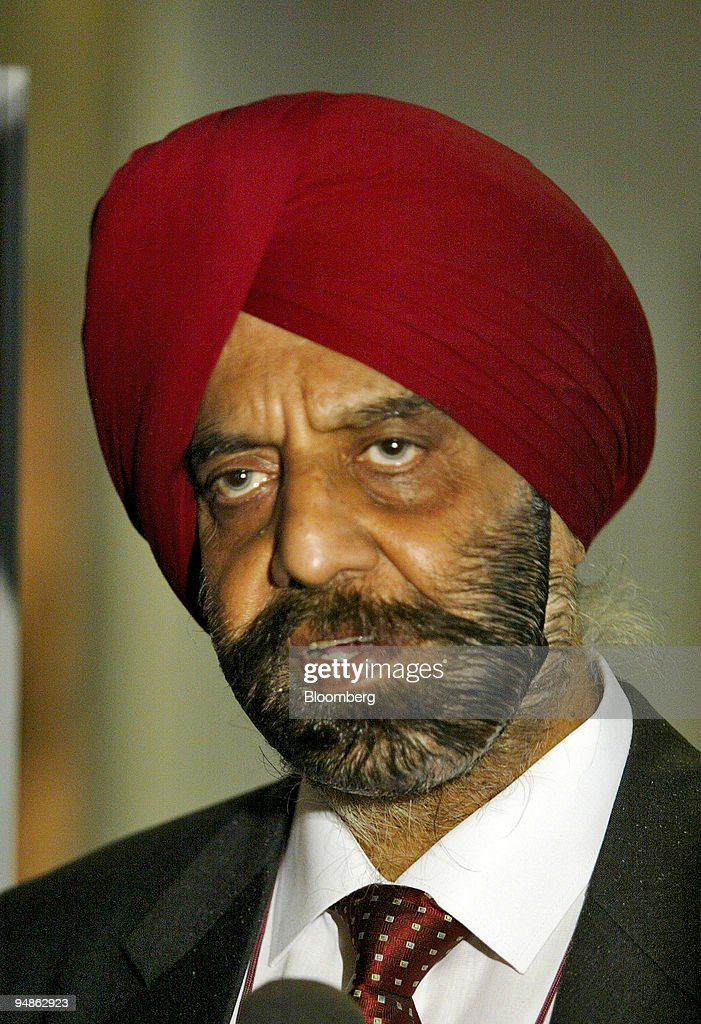 Kohli Chairman and Managing Director of Punjab National Bank is pictured at the BanCon 2004 bankers` conference in New Delhi India Thursday November..