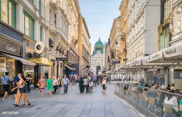 Kohlmarkt shopping street Vienna