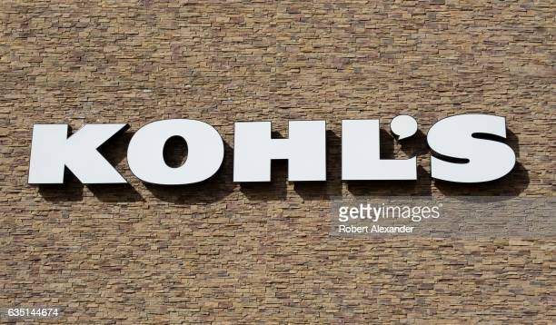 Kohl's department store in Santa Fe New Mexico in February 2017 The department store chain is headquartered in Memomonee Falls Wisconsin