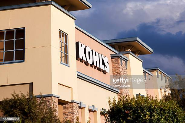 kohl's department store - kohls stock photos and pictures