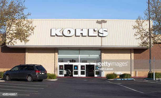 kohl's retail department store - kohls stock photos and pictures