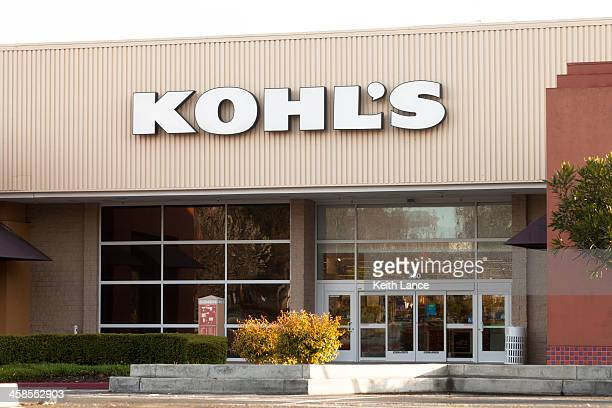 kohl's retail store - kohls stock photos and pictures