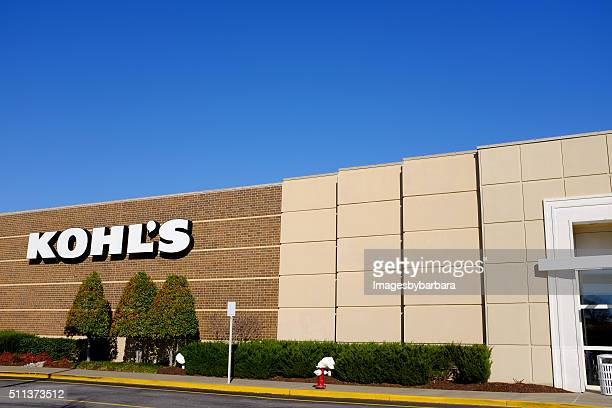 kohl's shopping - kohls stock photos and pictures