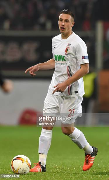 Kohr Dominik Germany soccer player FC Augsburg 1907 November 26 2015