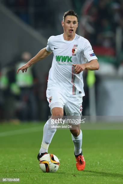 Kohr Dominik Germany soccer player FC Augsburg 1907 November 5 2015