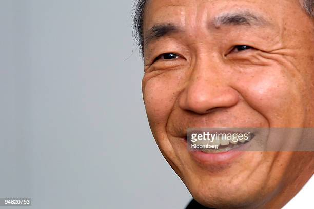 Koichi Kondo Honda North America Inc President And Chief Executive Officer Speaks To Reporters During The