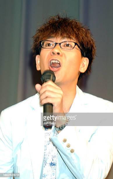 Koichi Yamadera as Dr Rondo during 'Pokemon the 7th Movie' Tokyo Premiere at Nakano Sun Plaza Hall in Tokyo Japan