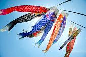 Koinobori (koi shaped japanese kite)
